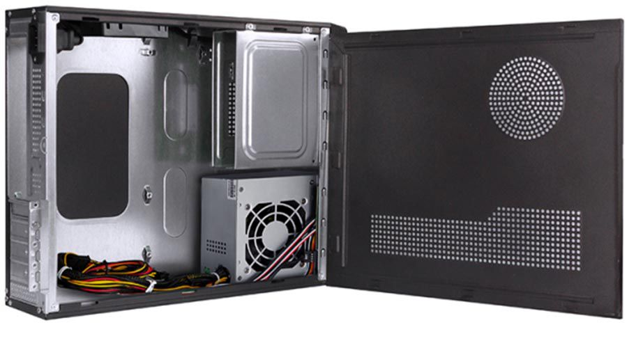 Gabinete Slim Micro ATX S/ Fonte BPC-8122 BLACK