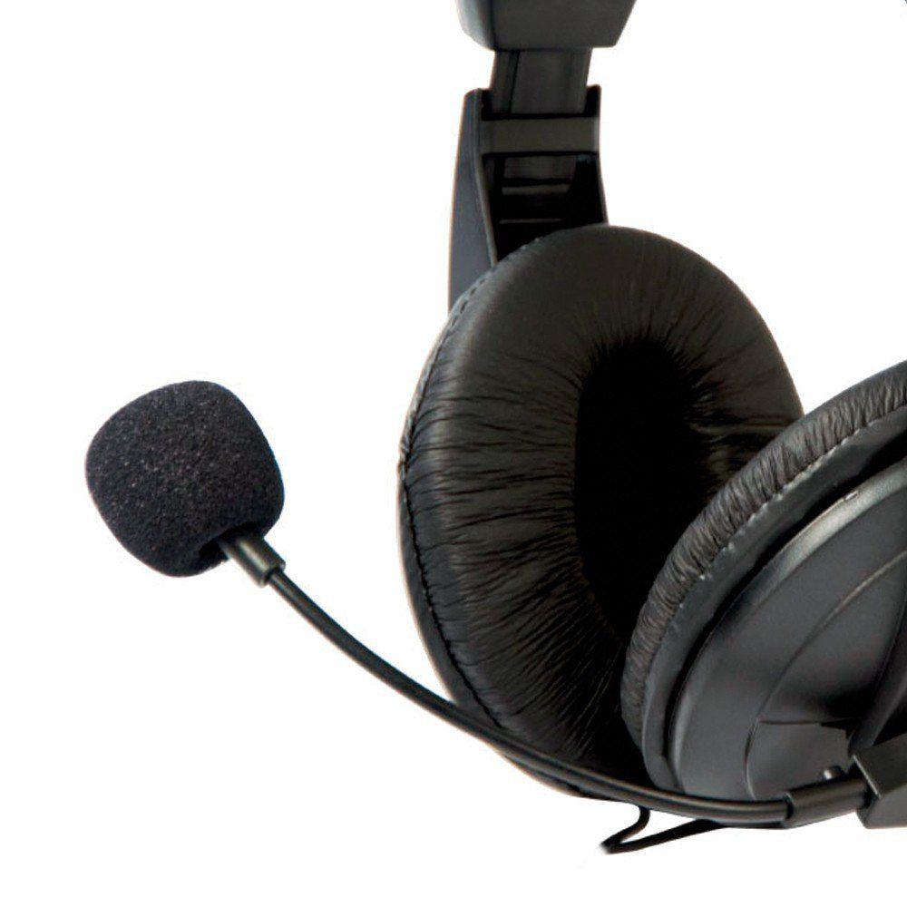 Headphone Fone + Microfone MI-2260ARC Voicer Comfort C3TECH