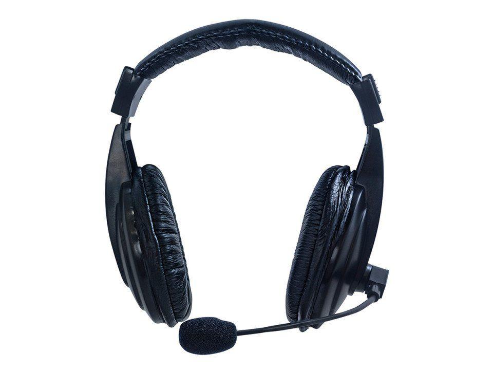Headphone Gamer Profissional com Microfone Super Bass Hardline Via 750