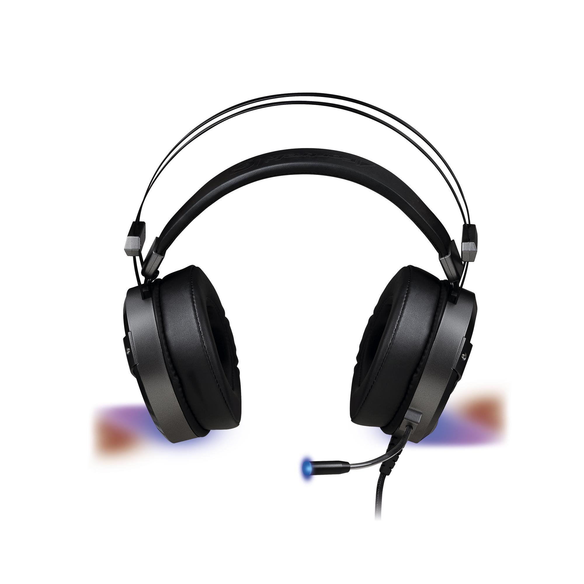 Headset Gamer RGB H1 Pro Led P2 e Usb Cabo Nylon FORTREK