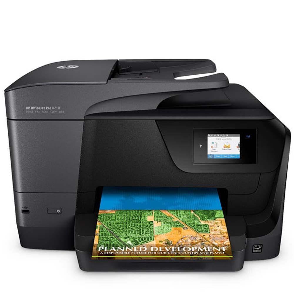 Impressora Multifuncional HP Officejet Pro 8710 Jato Tinta Importada