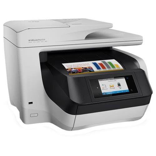 Impressora Multifuncional HP Officejet Pro 8720 Jato Tinta Importada
