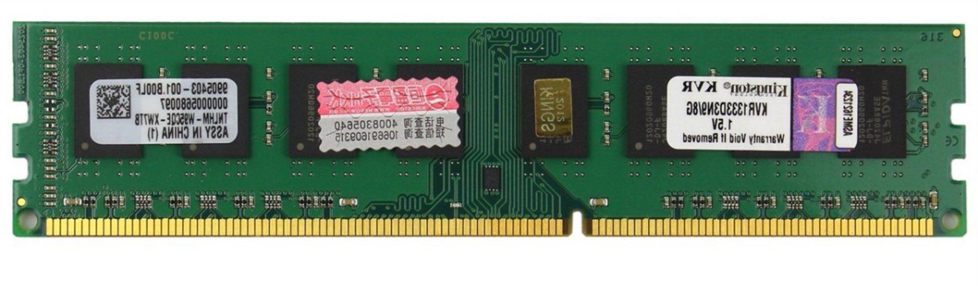 Memoria 8GB DDR3 1333 KVR1333D3N9/8G BOX KINGSTON
