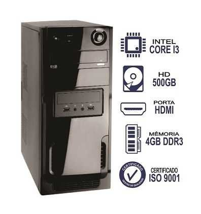 Computador Intel core i3 3.10Ghz 4Gb 500Gb Business RR18