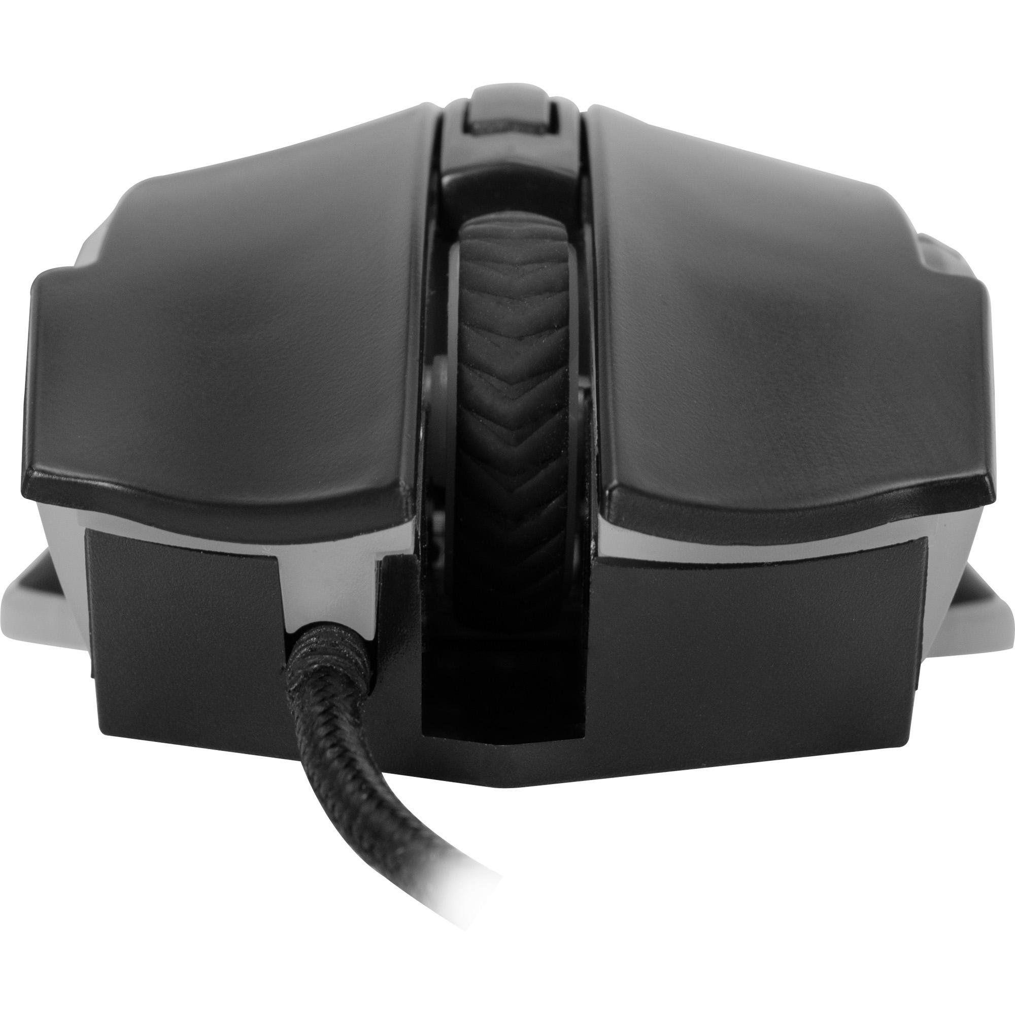 Mouse Gamer Pro M5 RGB 4800DPI Preto FORTREK