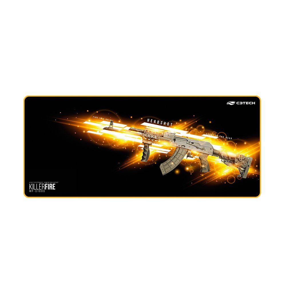 Mouse Pad Gamer Killer Fire MP-G1000 C3tech