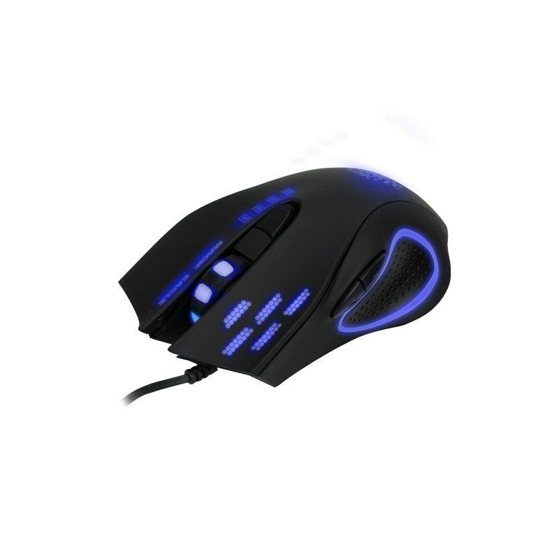 Mouse Usb Gamer Nemesis 5+ 6 Botões 2400 DPI