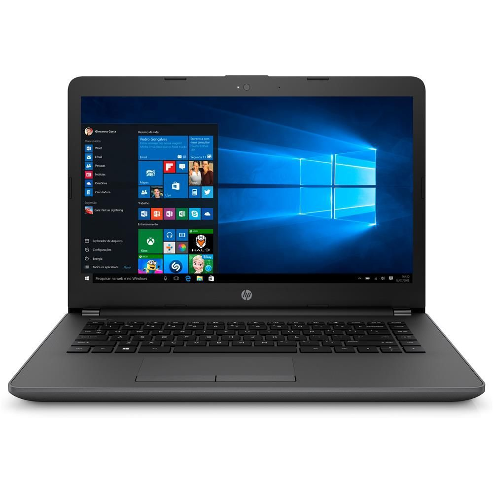 Notebook HP G6 Intel CORE i3 4GB 500GB Tela 14 WINDOWS10
