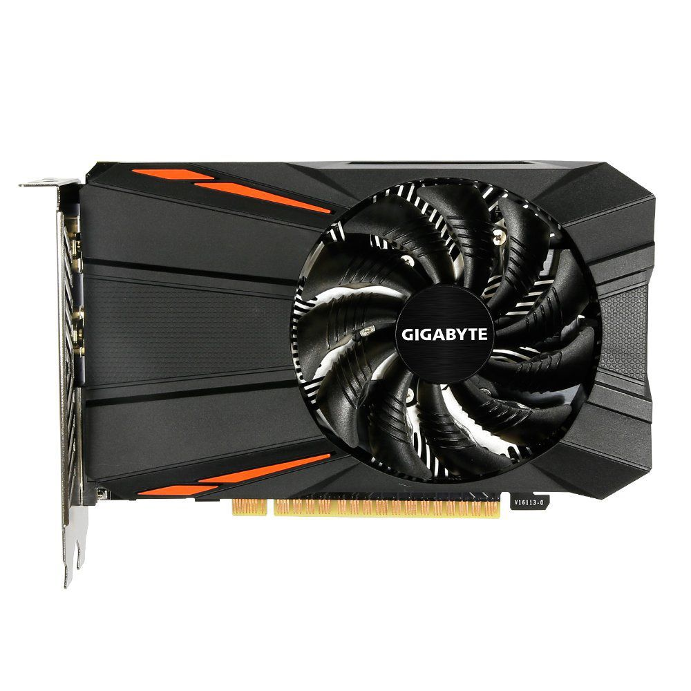 Placa de Vídeo Geforce GTX 1050 2GB DDR5 128 Bits GIGABYTE