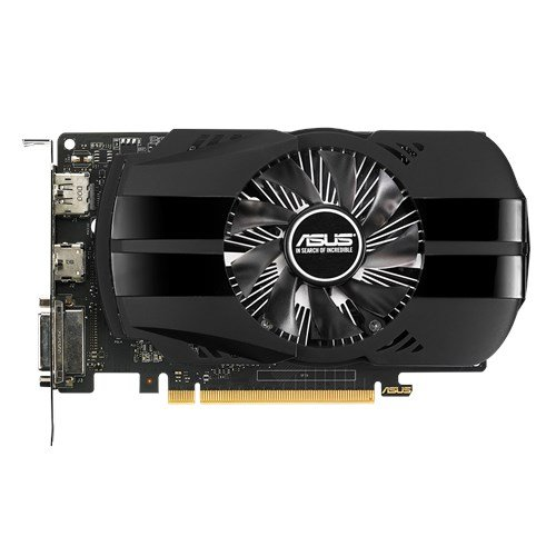 Placa de Vídeo VGA Asus Nvidia Geforce Gtx 1050 Ti 4GB GDDR5 PH-GTX1050TI-4G