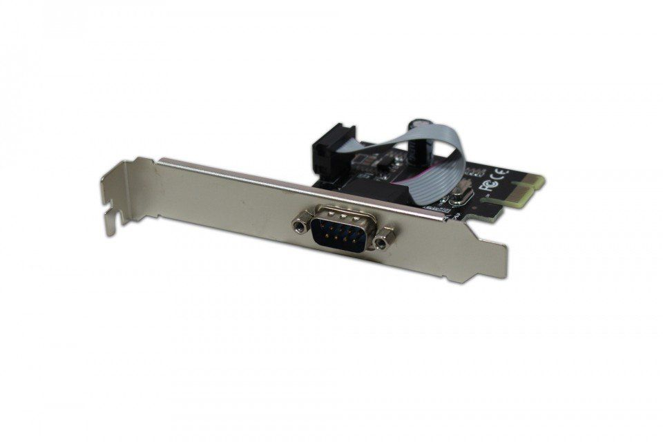 Placa Serial RS232 PCI Express C/ 1 Porta Hardline N-EXP1S