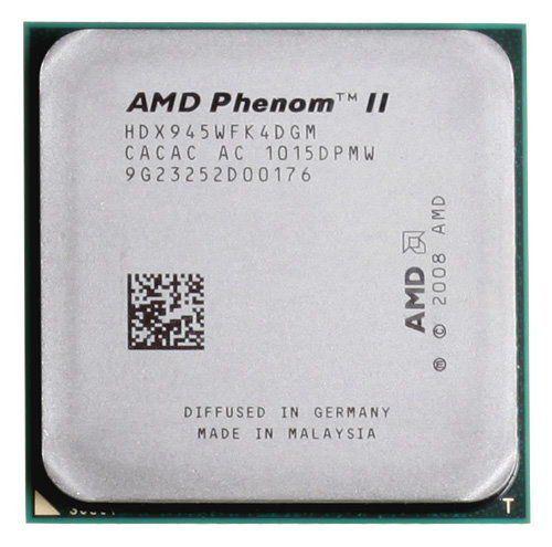 Processador AMD AM3 PHENOM II X4 945 3.0Ghz 95w OEM