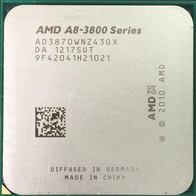 Processador AMD FM1 A8 3870K 3.0Ghz OEM