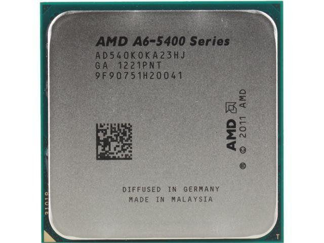 Processador AMD FM2 A6 5400K 3.6Ghz OEM