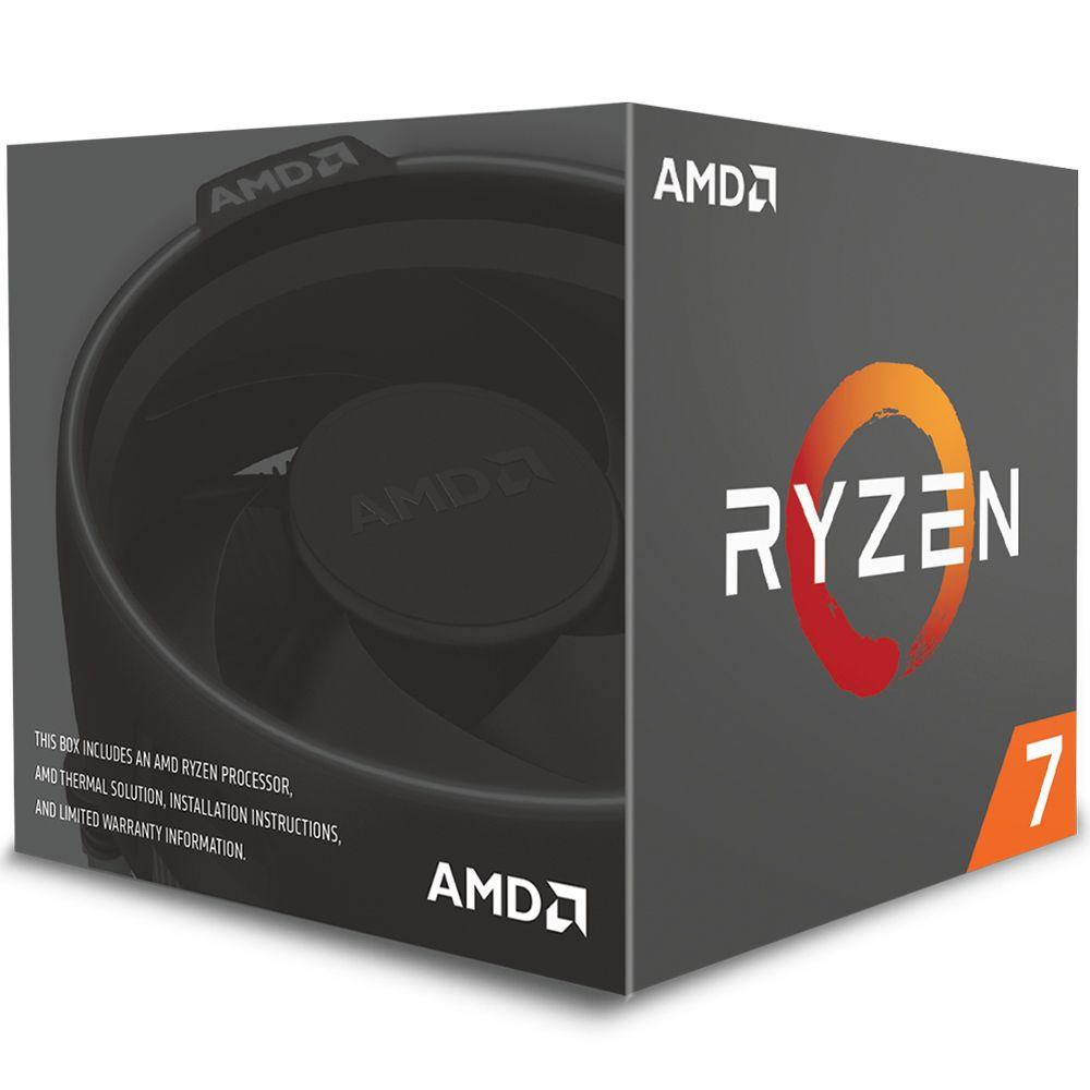 Processador AMD RYZEN 7 2700 3.2GHz 20MB AM4 Wraith Spire Cooler