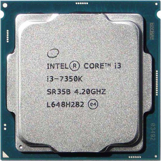 Processador Intel Core LGA 1151 I3 7350K KABY LAKE 4.20 Ghz 4MB BX80677i37350K com Cooler