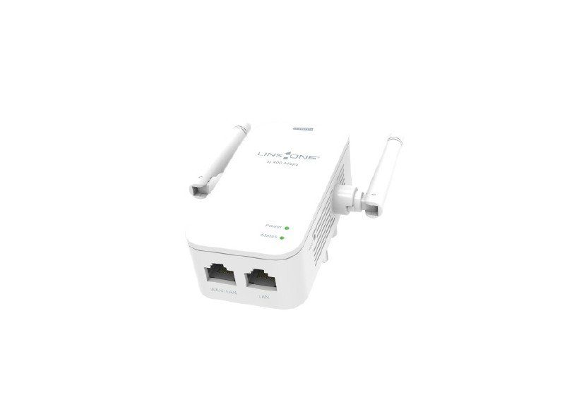Roteador e Repetidor Wireless 300MBPS 2 Antenas L1-RW312N LINK ONE