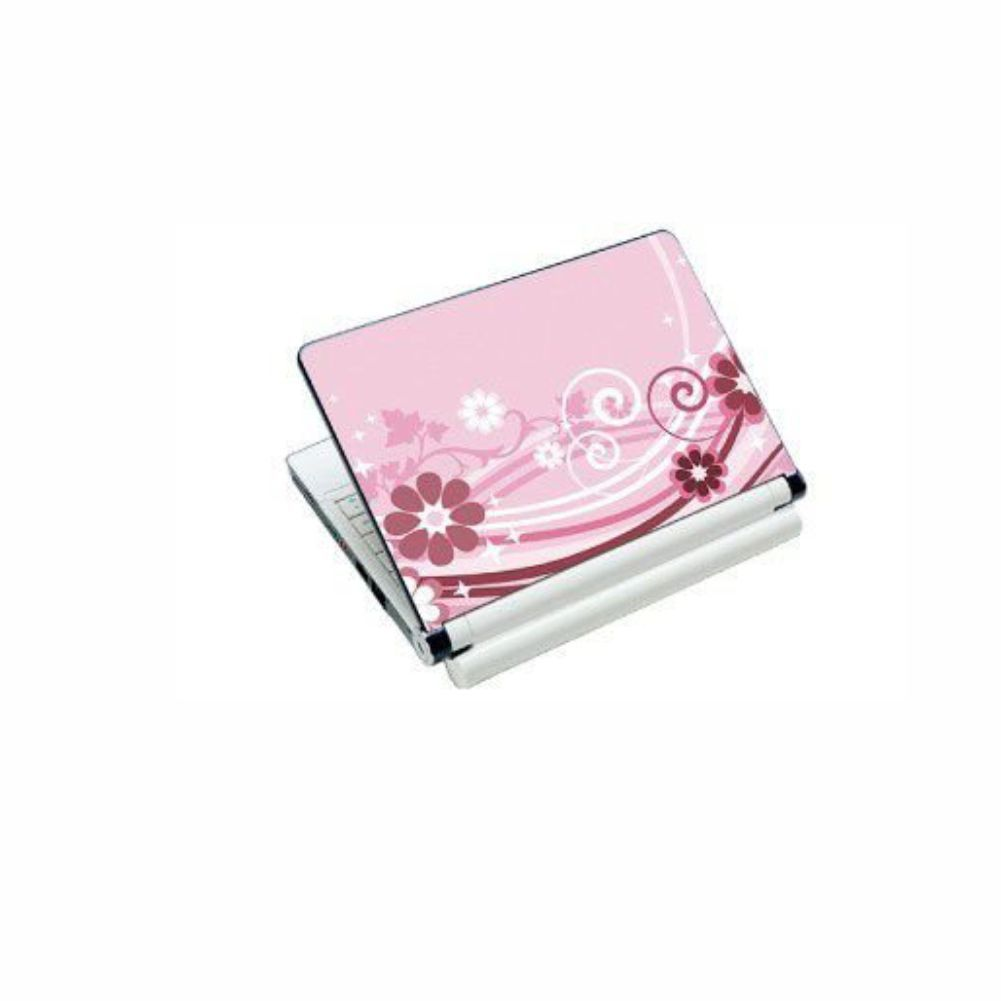 """Skin P/ Notebook 17"""" 0233 Floral Bright"""