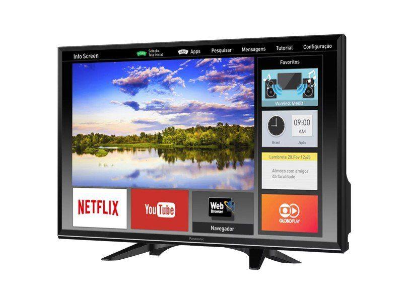 """Smart TV 32"""" LCD Led Smart PANASONIC TC-32ES600B"""
