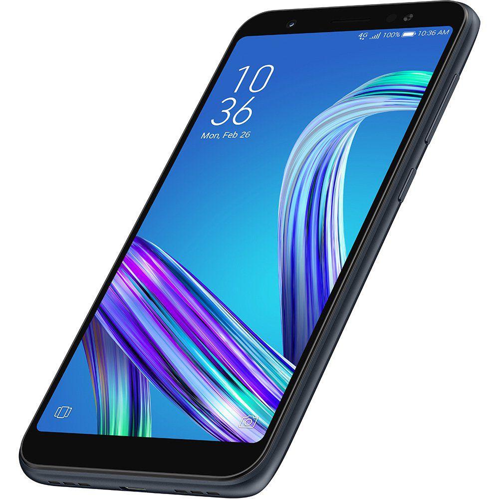 Smartphone Asus Zenfone Live L1 32GB Octacore Dual Chip Tela 5.5  Preto