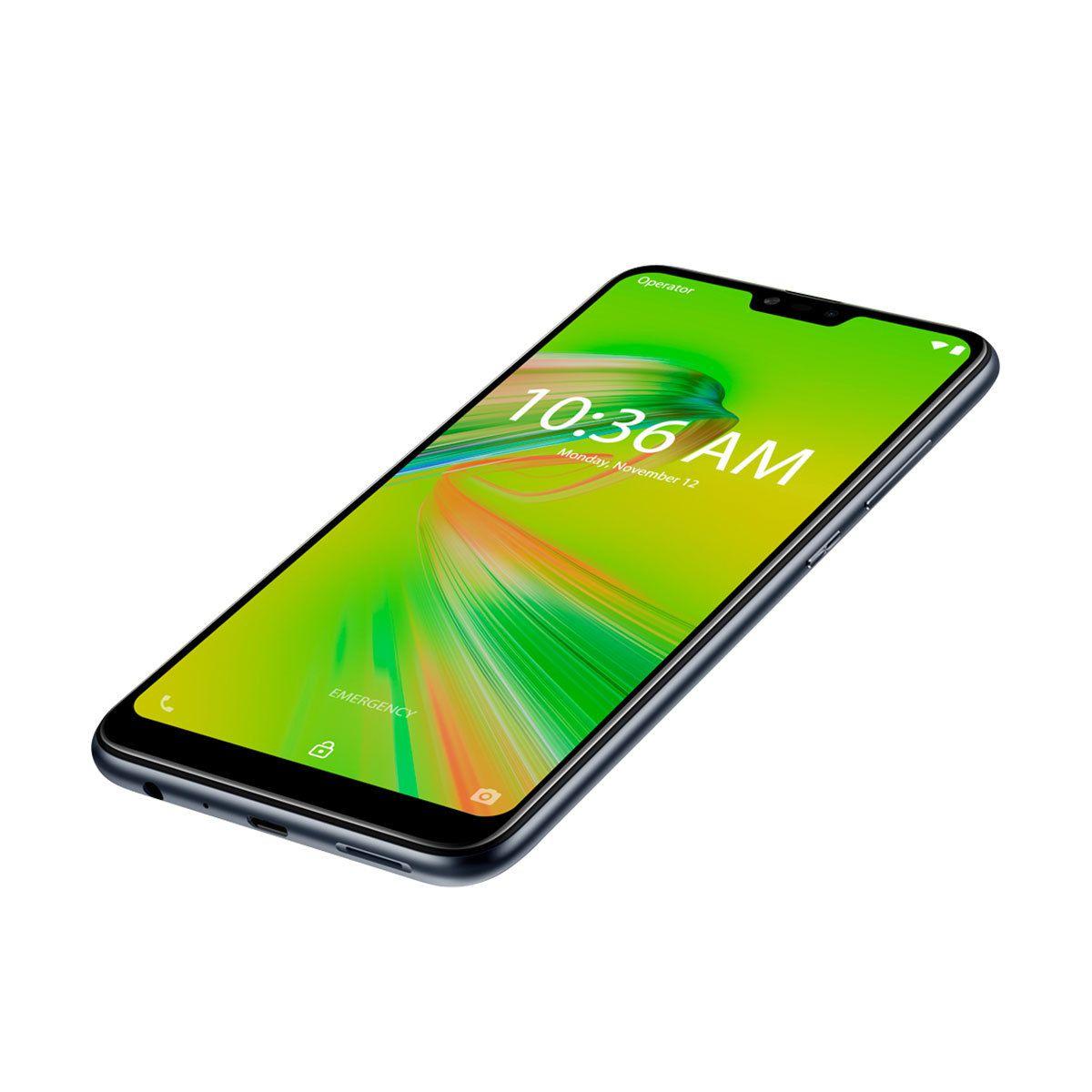 "Smartphone Asus ZENFONE MAX SHOT 64GB ZB634KL CÂMERA TRIPLA Tela 6.2"" Preto"
