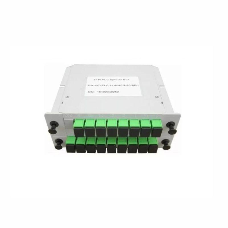 Splitter Box Modular PLC 1X16 SC/APC -  VERDE - SL