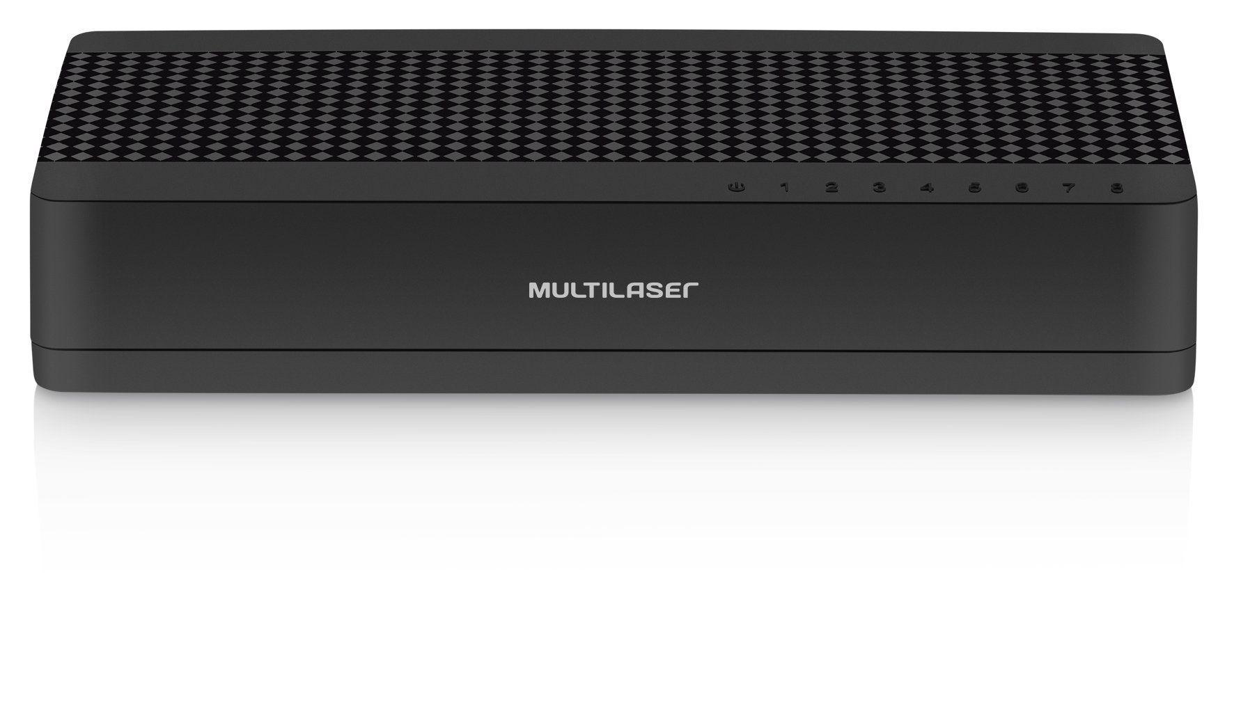 Switch 8 Portas VLAN POE Multilaser RE115