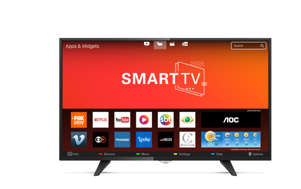 "TV 43"" Smart LCD Led Full LE43S5970 AOC"