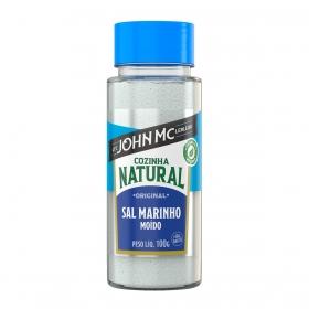 Cozinha Natural - Sal de Finalização Marinho Moído - 100g + 50g grátis