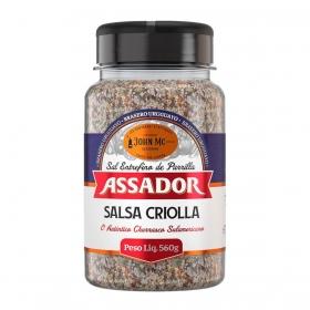 Sal de Parrilla com Salsa Criolla - Brasero Uruguayo - Linha ASSADOR (560g)