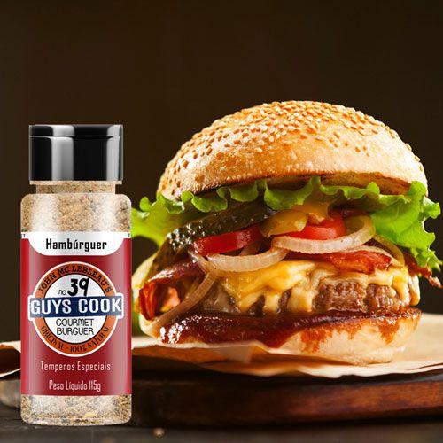 Tempero Internacional Hambúrger Gourmet - 115g