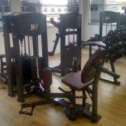 Abdutora musculação academia oblonga preta ucf pro