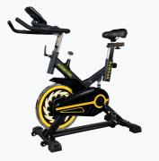 Bicicleta ergométrica spinning profissional tp1000 preta/amarelo oneal