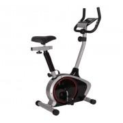 Bicicleta ergometrica vertical prata 100kg oneal tp9516