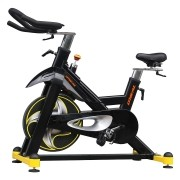 Bicicleta ergometrica spinning preta 160kg oneal tp8000
