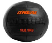 Wall ball bola de areia couro 8kg crossfit preta oneal