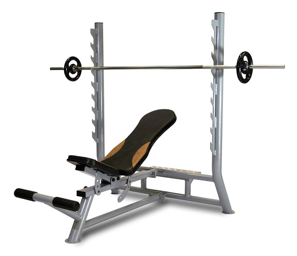 Banco supino regulável estação de musculação ucf pro