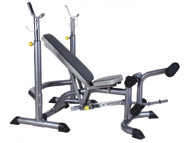 Banco supino estação de musculação ginastica oneal bf850
