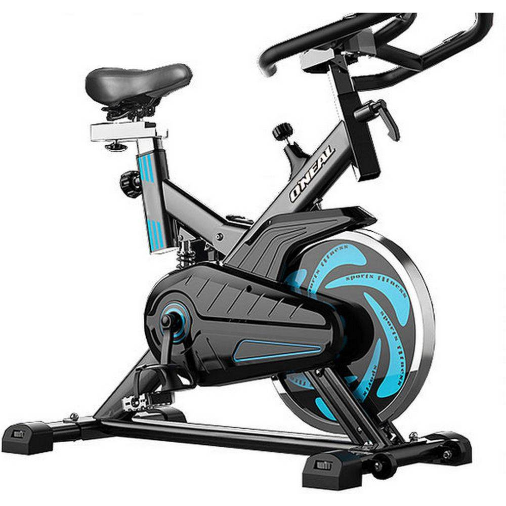 Bicicleta ergometrica spinning preta oneal tp1000