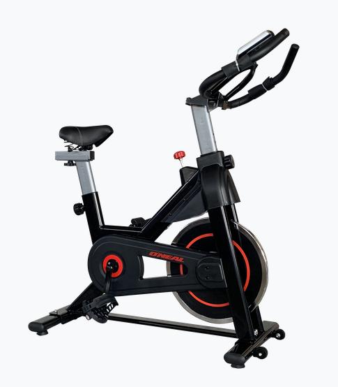 Bicicleta ergométrica spinning semi-profissional tp1400 preta oneal