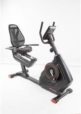 Bicicleta ergometrica horizontal preta 130kg oneal tp1508