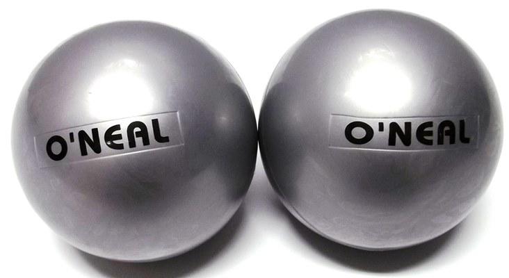 Bola de peso 1kg pvc anti-explosão antiderrapante par oneal