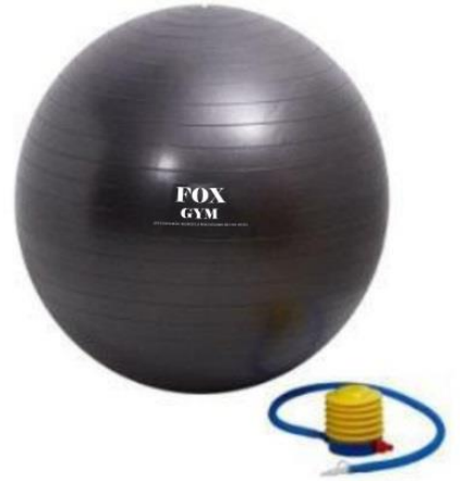 Bola ginastica borracha 75cm fox gym
