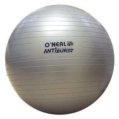 Bola ginastica borracha anti explosão 250kg 65cm yoga oneal