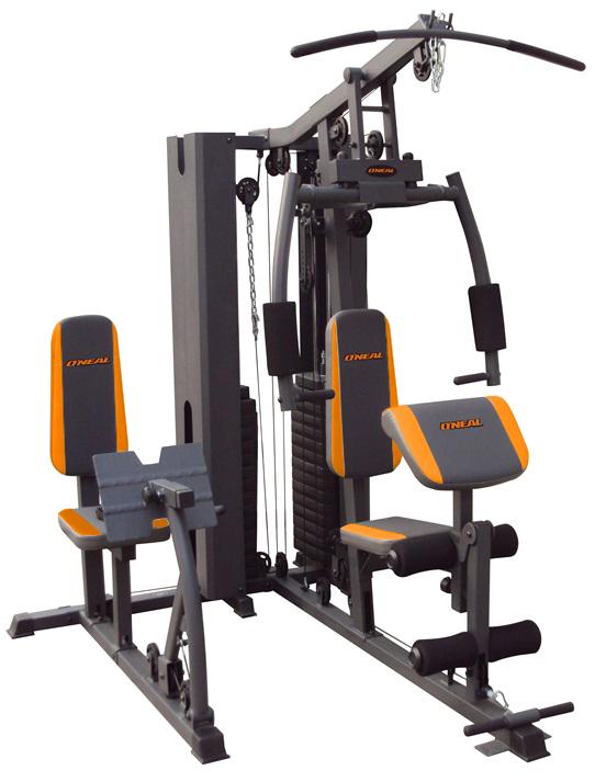 Estação musculação residencial aparelho academia oneal bf006
