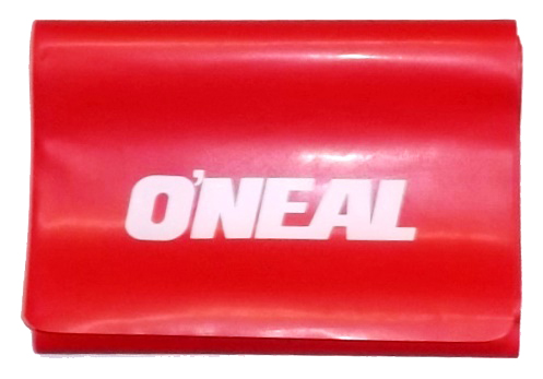 Faixa elástica latex profissional 0,35mm vermelha oneal