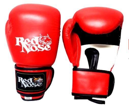Luva de boxe red nose vermelha