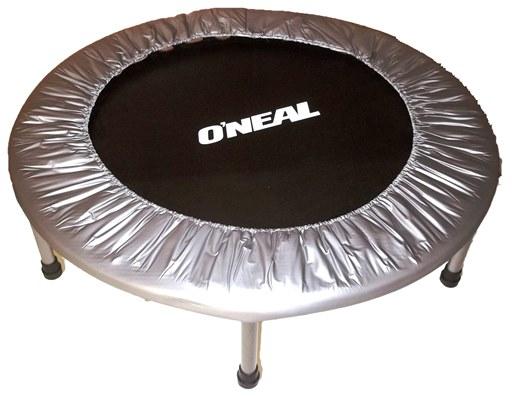 Cama elastica trampolim mini jump preta prata oneal