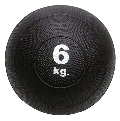 Slam ball bola de areia 6kg borracha preta crossfit oneal
