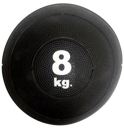 Slam ball bola de areia 8kg borracha preta crossfit oneal